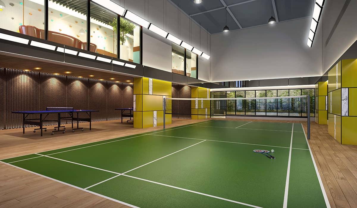 Trion2 Facility: Badminton Court