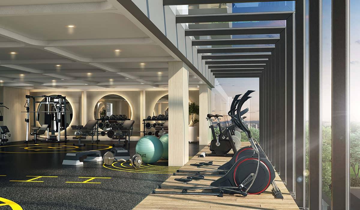 Trion2 Facility: Gymnasium