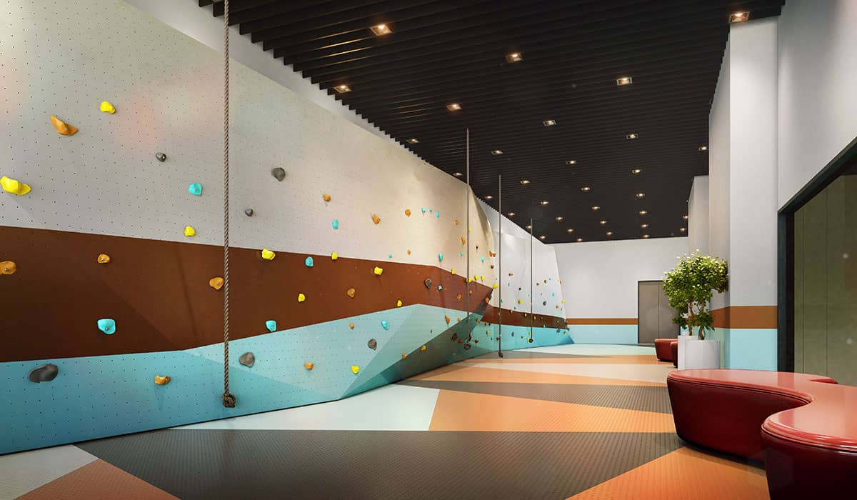 Trion2 Facility: Rock Wall Climbing